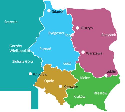 Biomaxima Mapa Regionów Analityka
